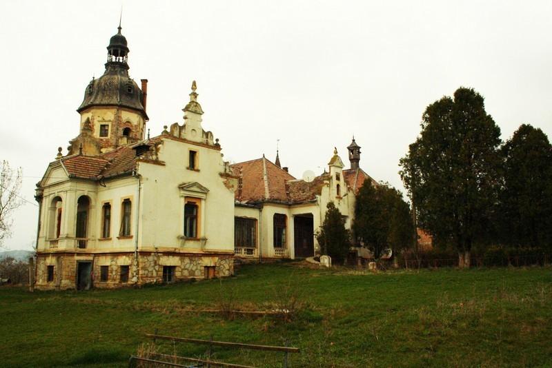 Palatul Banffy înainte de restaurare