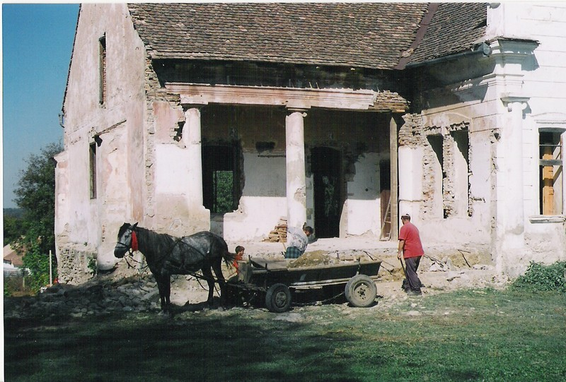 Casa Apafi în 2000